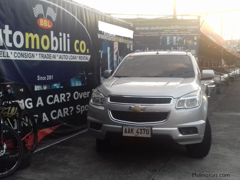 Pre-owned Chevrolet TrailBlazer for sale in Paranaque City
