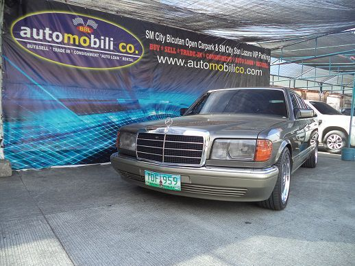Used Mercedes-Benz 420 SEL for sale in Paranaque City