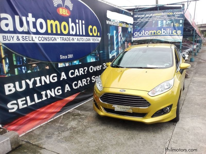 Pre-owned Ford Fiesta S Ecoboost for sale in Paranaque City