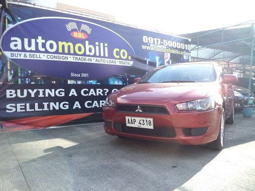 Pre-owned Mitsubishi Lancer Ex Glx for sale in Paranaque City