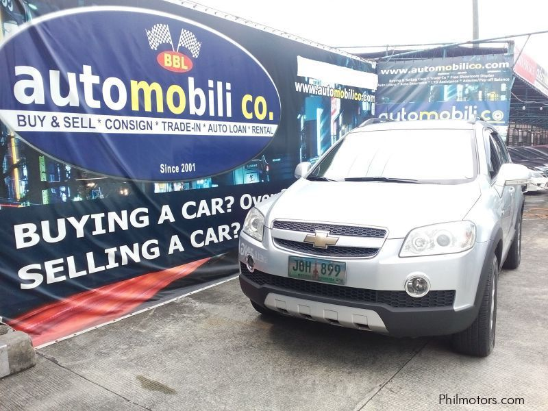 Pre-owned Chevrolet Captiva for sale in Paranaque City