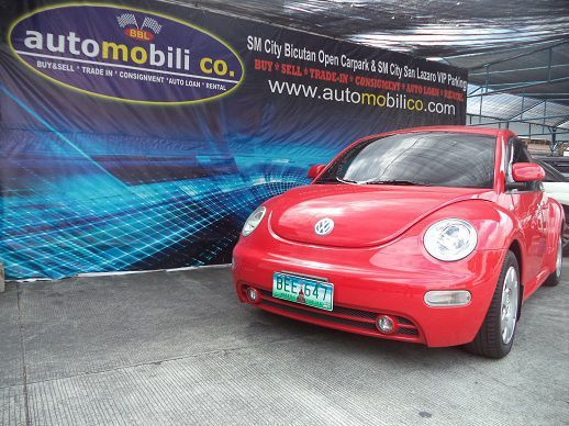 Pre-owned Volkswagen Beetle for sale in Paranaque City