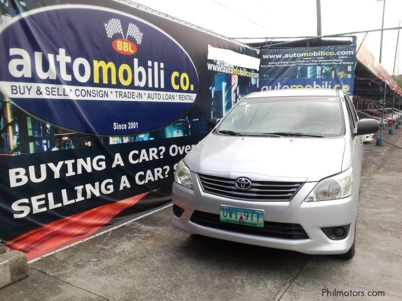 Pre-owned Toyota Innova E for sale in Paranaque City