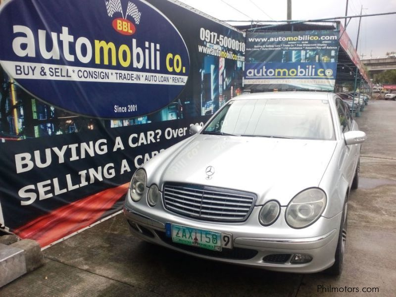 Pre-owned Mercedes-Benz E200 for sale in Paranaque City