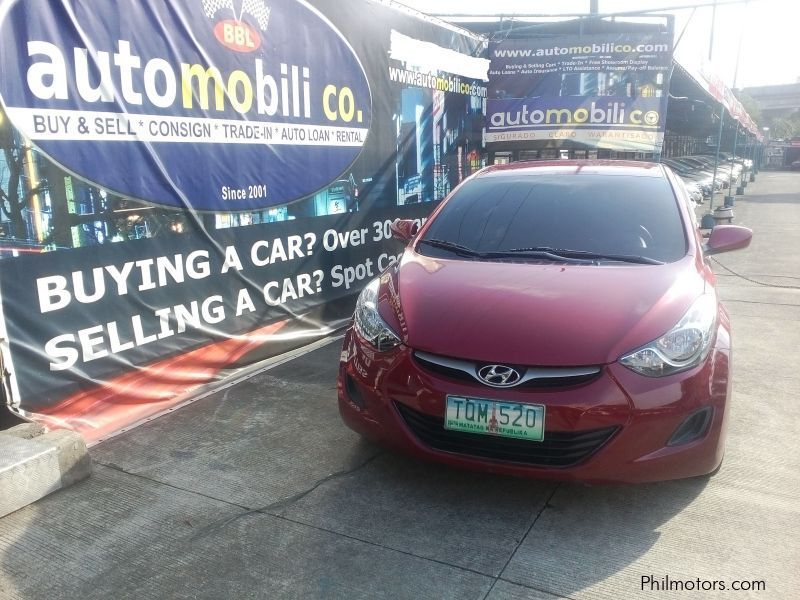 Pre-owned Hyundai Elantra for sale in Paranaque City