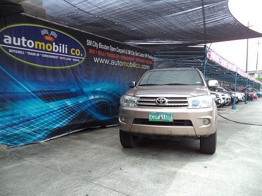 Used Toyota Fortuner G for sale in Paranaque City