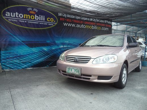 Used Toyota Altis J for sale in Paranaque City