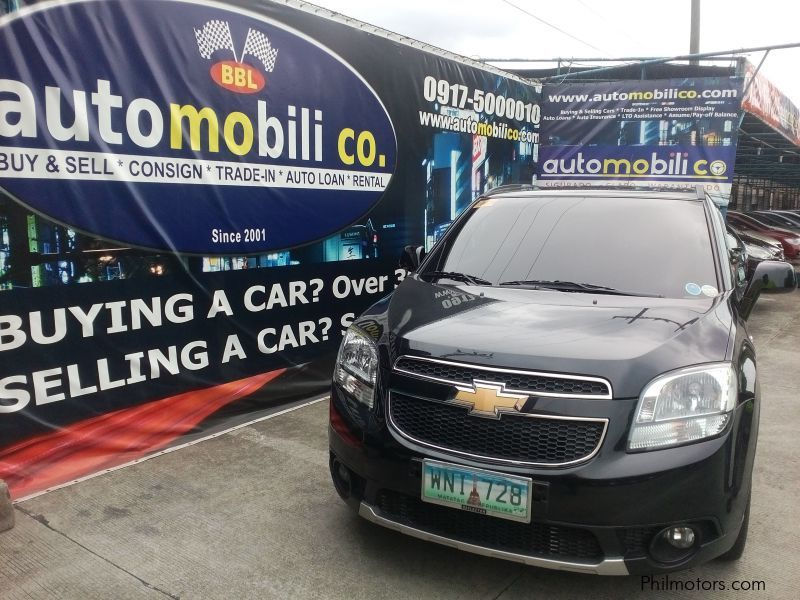 Pre-owned Chevrolet Orlando LT for sale in Paranaque City