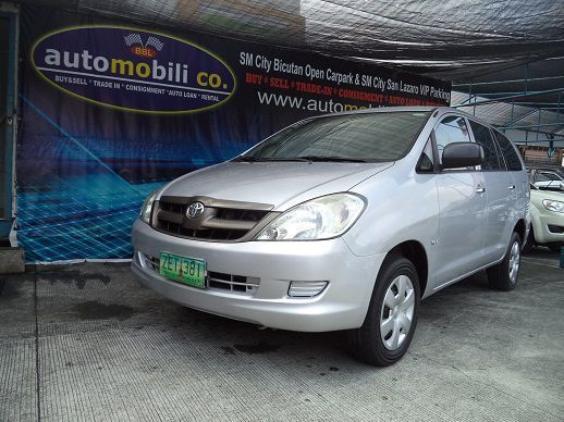 Used Toyota Innova J for sale in Paranaque City