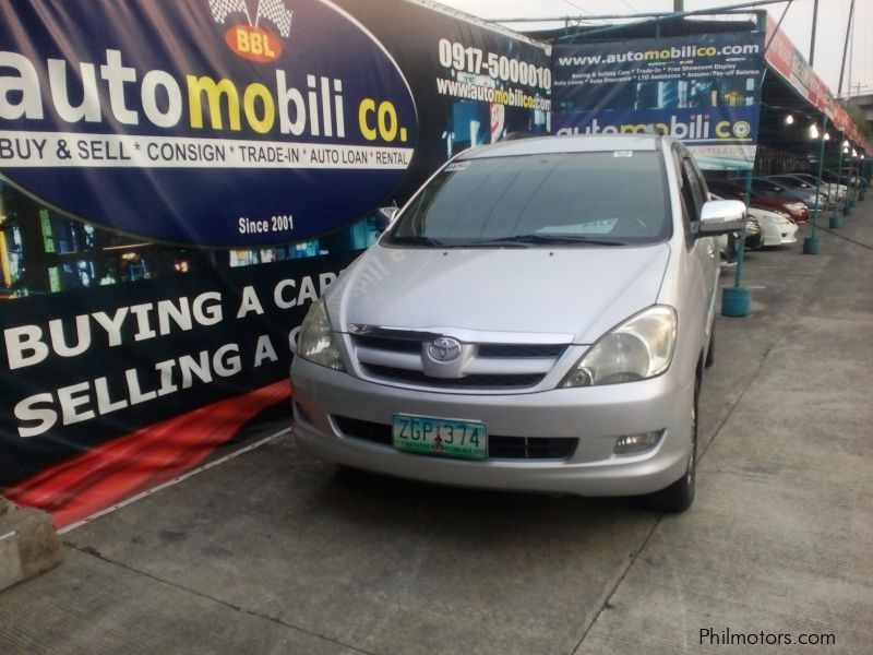 Used Toyota Innova V for sale in Paranaque City