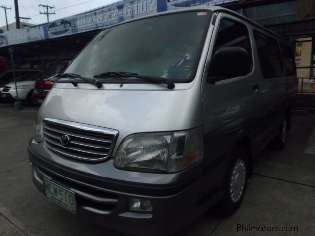 Used Toyota Hi-Ace in Philippines