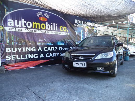 Pre-owned Honda Civic VTi-S for sale in Paranaque City