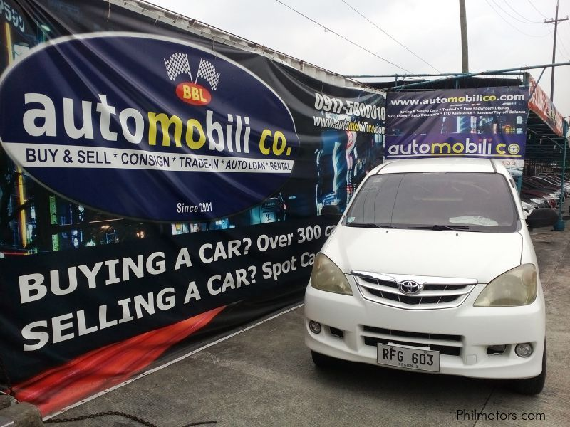 Used Toyota Avanza for sale in Paranaque City