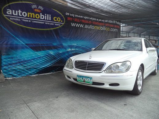 Pre-owned Mercedes-Benz S320 for sale in Paranaque City