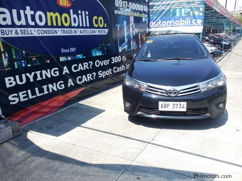 Pre-owned Toyota Corolla Altis G for sale in Paranaque City