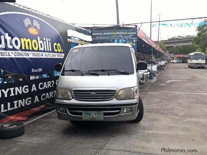 Used Toyota Hiace Grandia for sale in Paranaque City