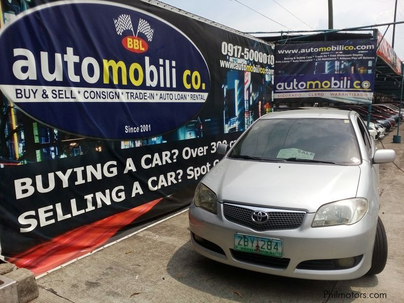 Pre-owned Toyota Vios J for sale in Paranaque City