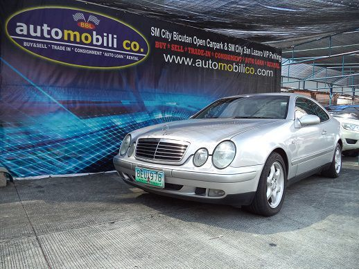 Pre-owned Mercedes-Benz CLK320 for sale in Paranaque City