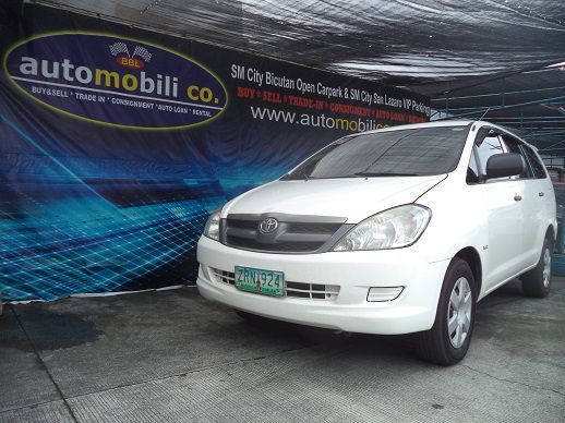 Pre-owned Toyota Innova J for sale in Paranaque City