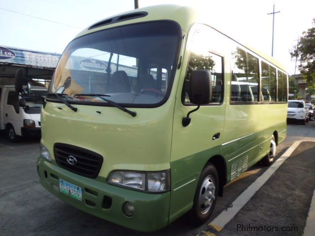 Used Hyundai County in Philippines