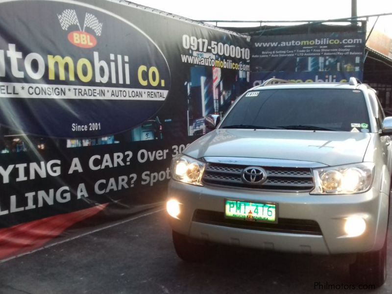 Pre-owned Toyota Fortuner G for sale in Paranaque City