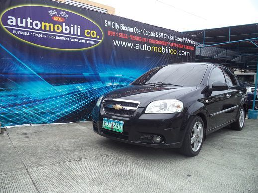 Used Chevrolet Aveo LT for sale in Paranaque City