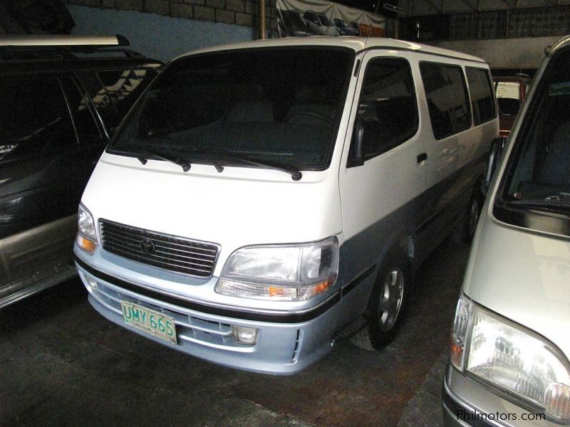 Used Toyota Hi-Ace Grandia DSL for sale in Quezon City
