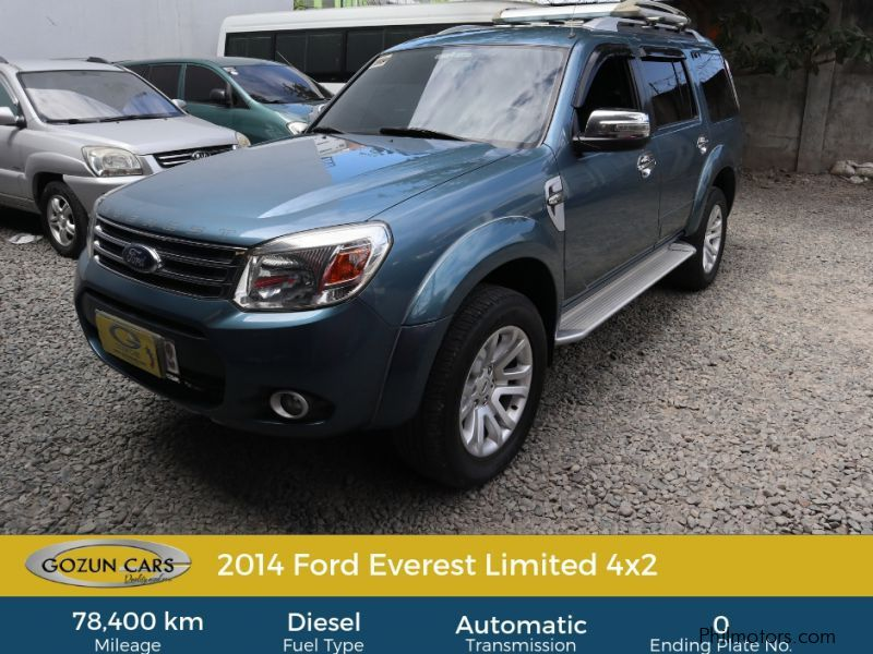 Pre-owned Ford Everest Limited for sale in