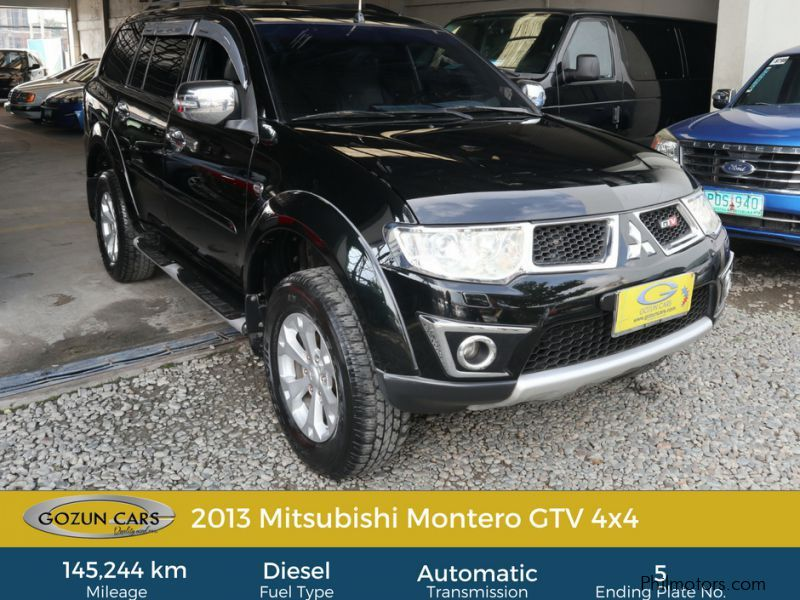 Pre-owned Mitsubishi Montero GTV for sale in