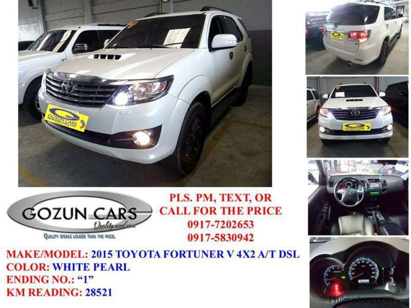 Used Toyota Fortuner in Pampanga