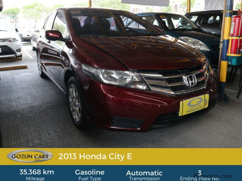 Pre-owned Honda City E for sale in
