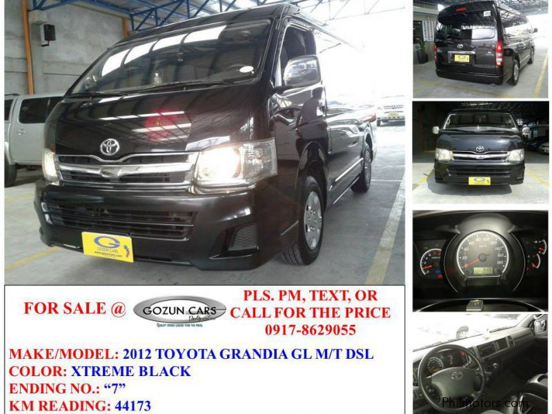 Used Toyota Grandia  for sale in Pampanga