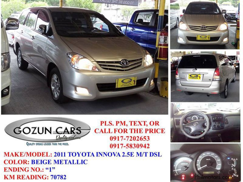 Pre-owned Toyota Innova for sale in Pampanga