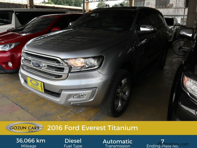 Pre-owned Ford Everest Titanium for sale in
