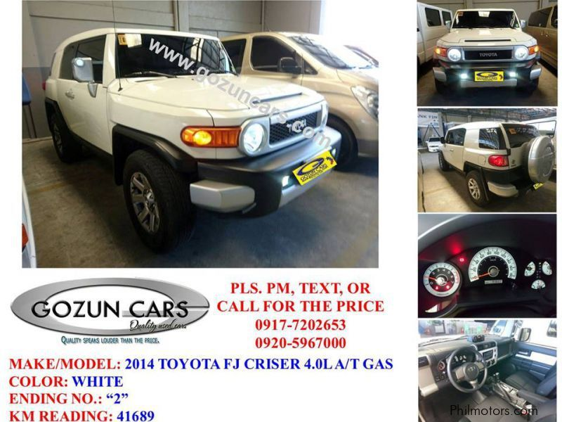 Used Toyota FJ Cruiser in Pampanga