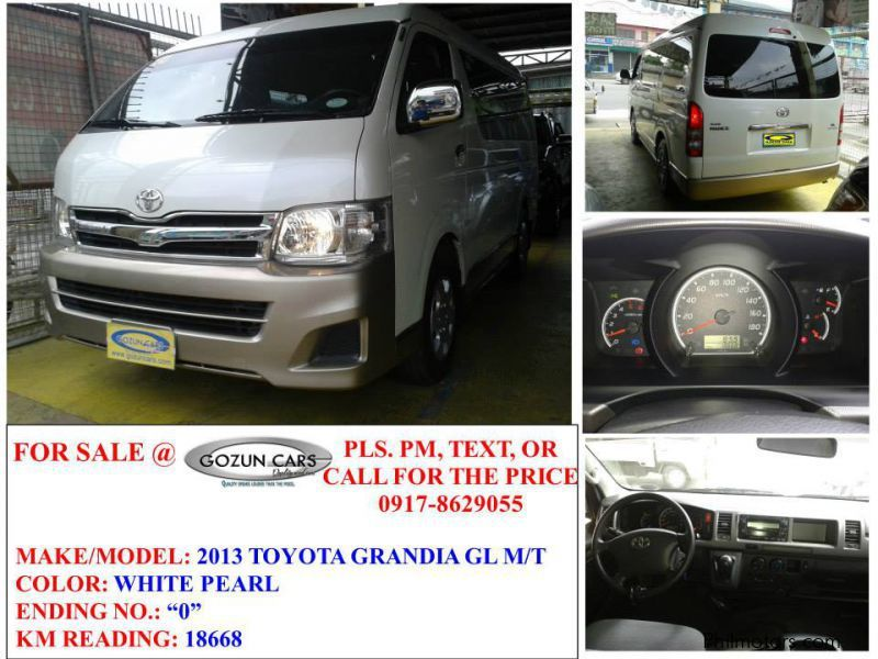 Used Toyota Grandia GL for sale in Pampanga