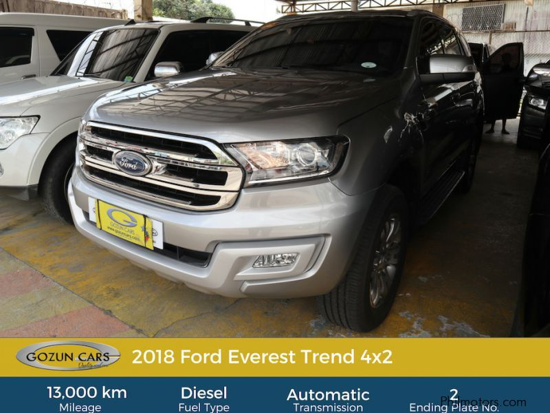 Pre-owned Ford Everest Trend for sale in
