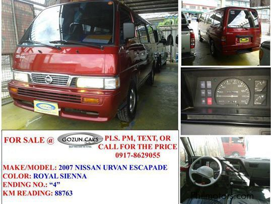 Used Nissan Urvan for sale in Pampanga