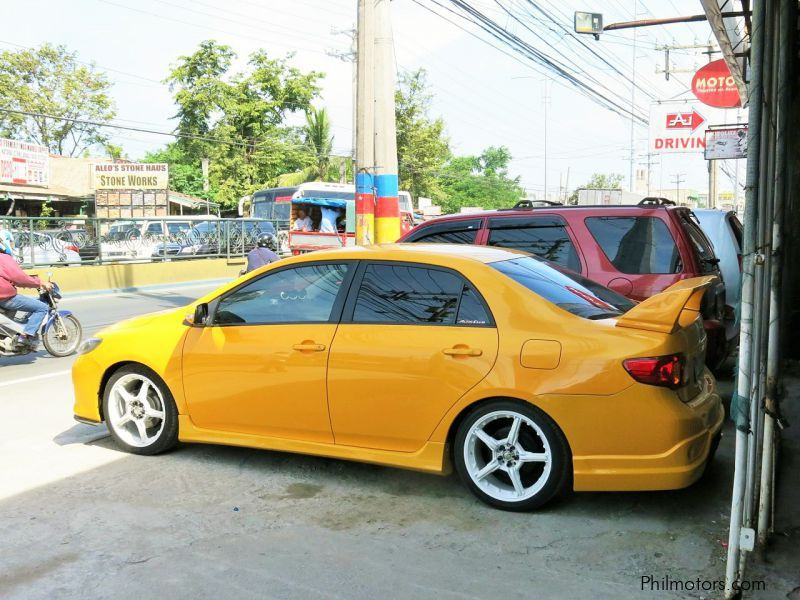 Used Toyota Altis E in Cavite