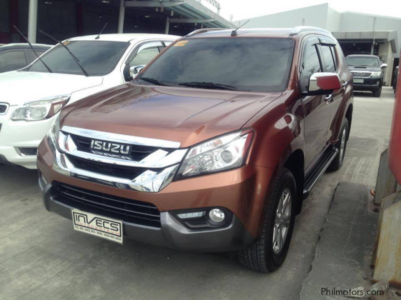 Pre-owned Isuzu MUX for sale in Pampanga