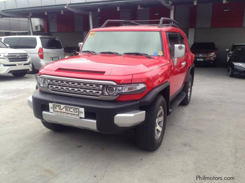 Pre-owned Toyota FJ Cruiser for sale in Pampanga
