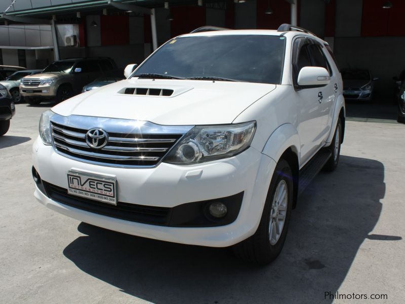 Pre-owned Toyota Fortuner V for sale in Pampanga