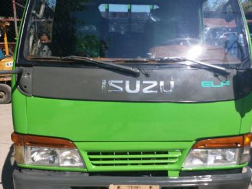 Pre-owned Isuzu Elf Recon Dropside Cargo with Power tailgate 4x2  4HF1 for sale in