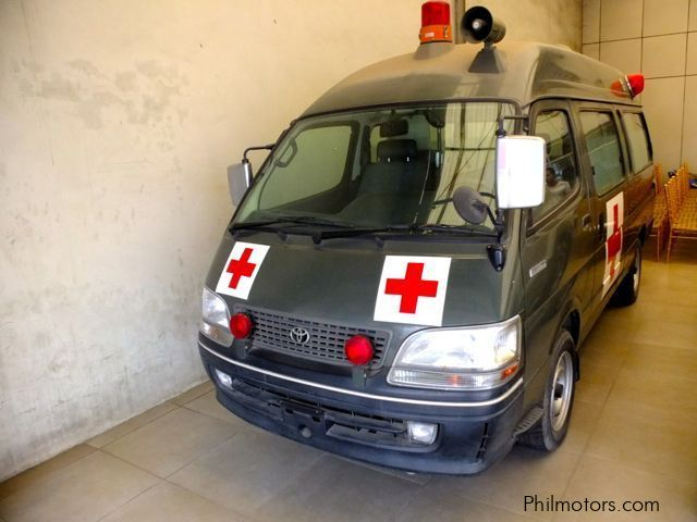 Used Toyota Ambulance Hi-Ace for sale in Cebu