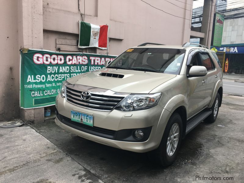 Pre-owned Toyota Fortuner V for sale in Makati City