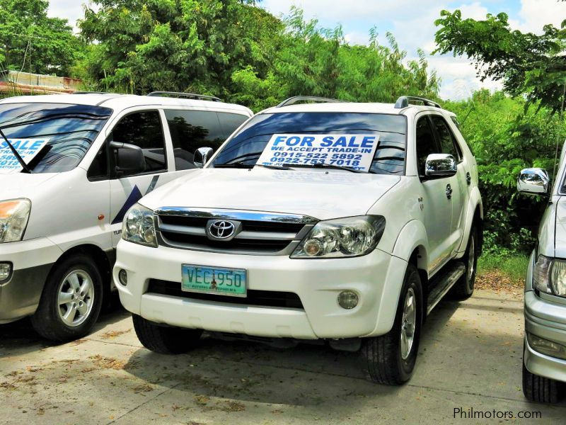 Pre-owned Toyota Fortuner G for sale in Pampanga