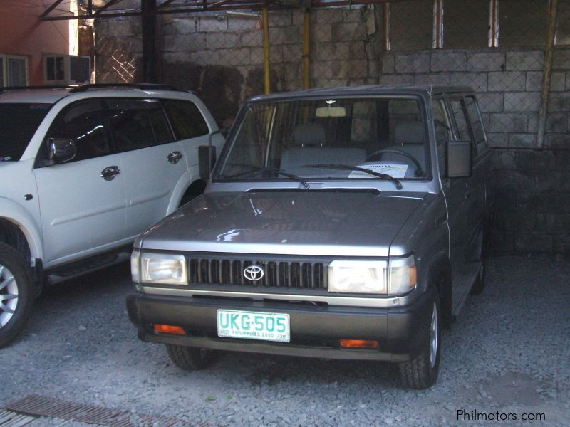 Pre-owned Toyota Tamaraw FX GL for sale in Cavite
