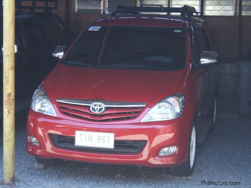 Used Toyota Innova E in Cavite