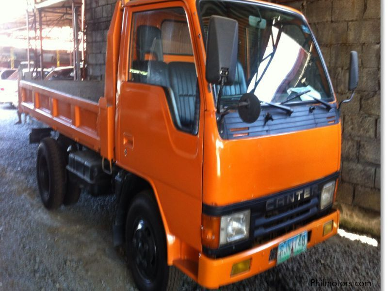 Used Mitsubishi Canter mini dump truck in Cavite