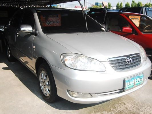 Used Toyota Altis E in Philippines